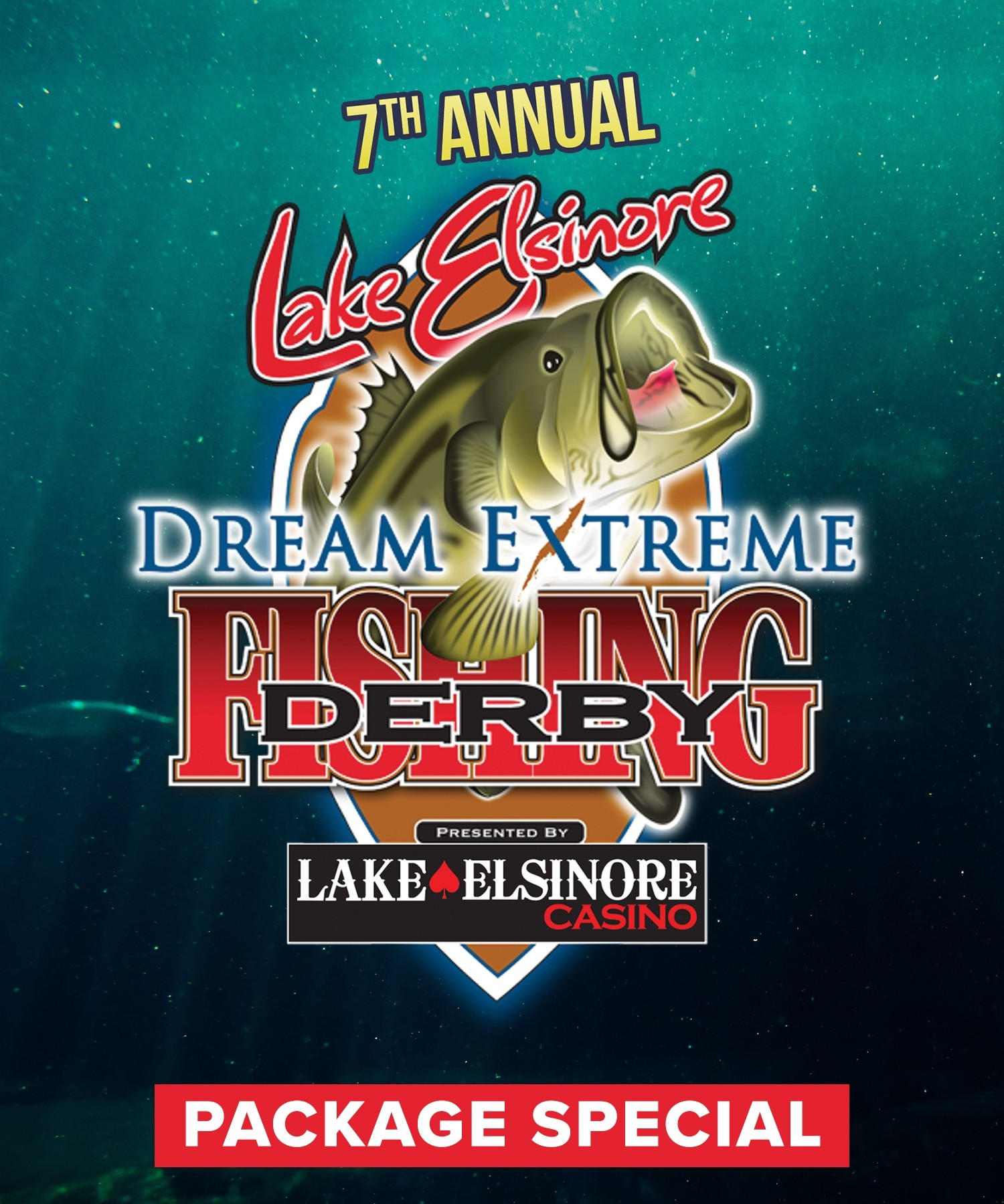 7th Annual Fishing Derby - Package Special