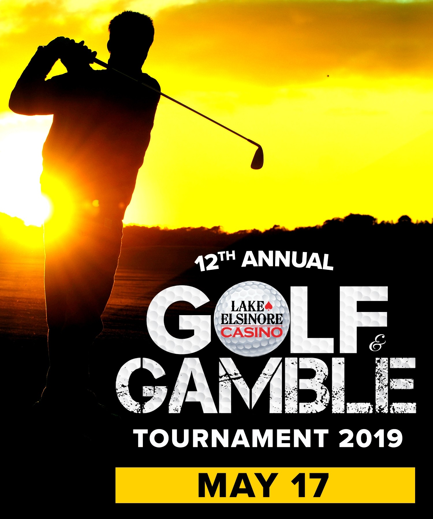 12th Annual - Golf & Gamble