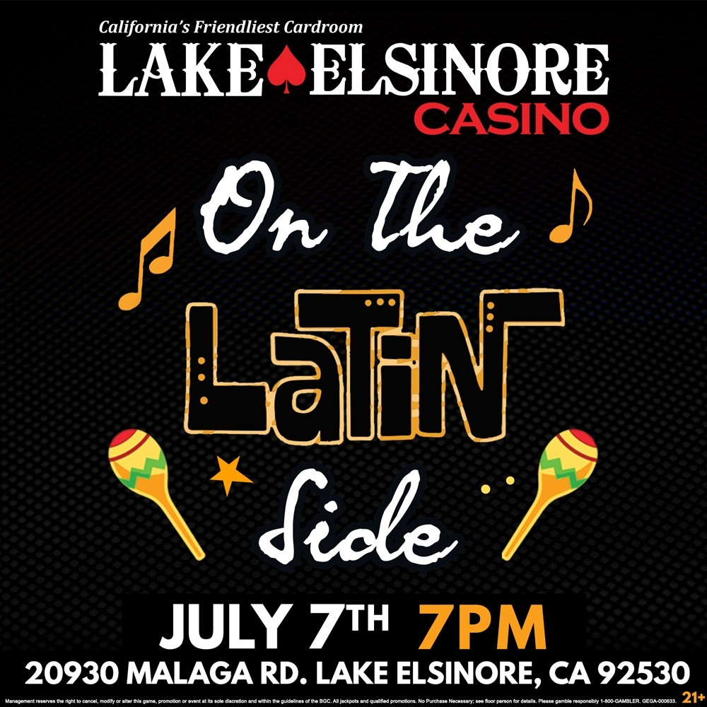 On The Latin Side - July 7th