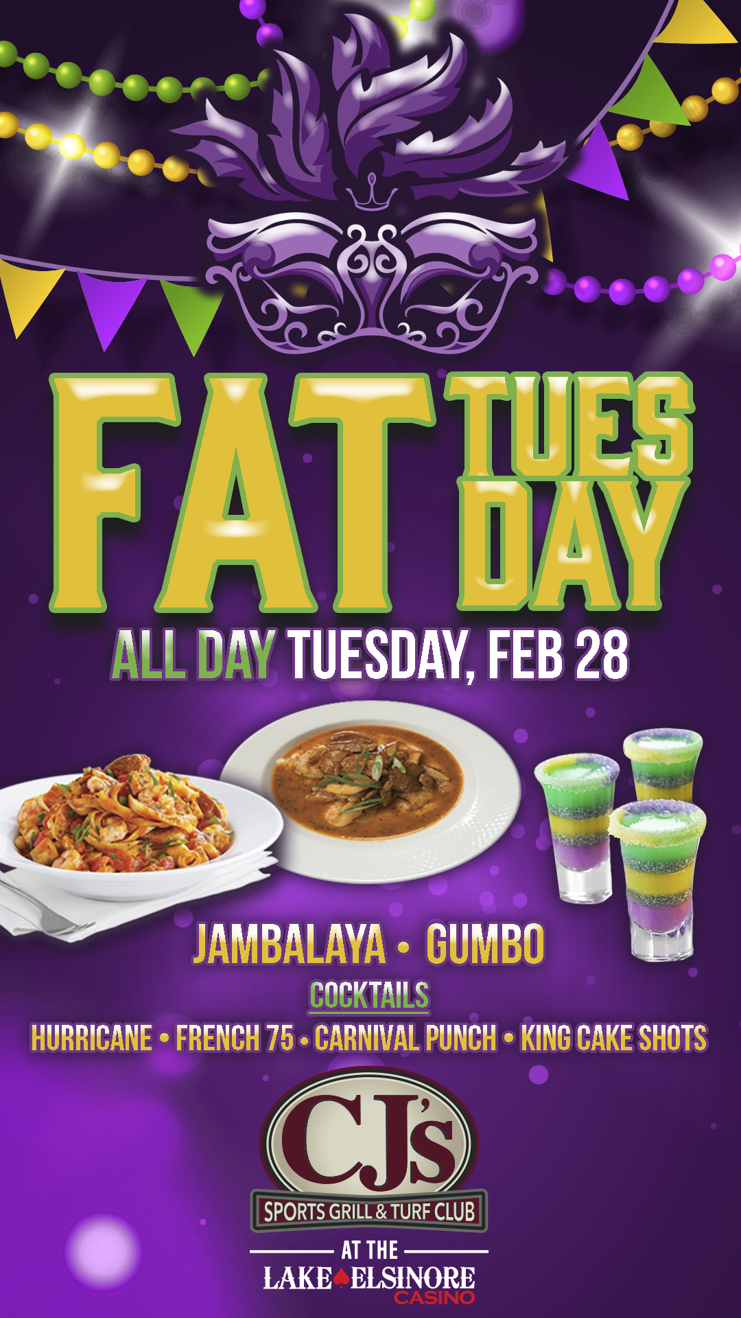 Fat Tuesday Lake Elsinore Casino Amp Poker Room